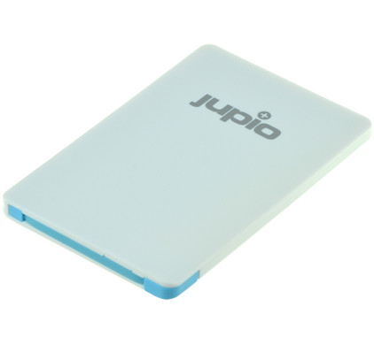 Jupio Power Vault Card 2500 mAh Wit