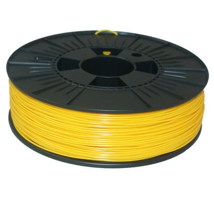 ABS Gele Filament 1,75 mm (0,75 kg)