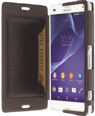 Krusell Kiruna Book Case Sony Xperia Z3 Compact Zwart