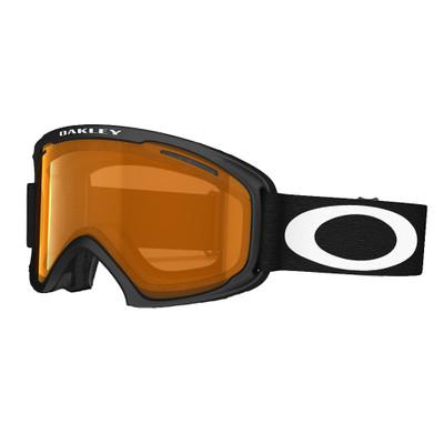 Oakley O2 - Goggle / Skibril - XS - Matte Black / Persimmon