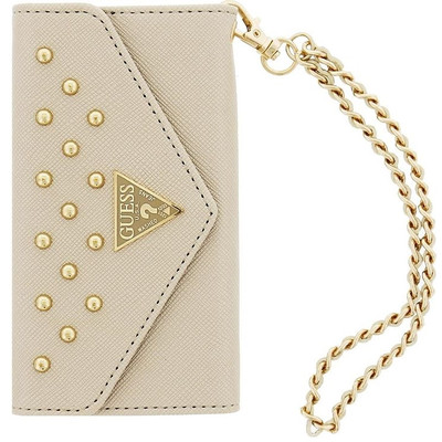 Guess Clutch Studded Collection Apple iPhone 6 Plus Wit