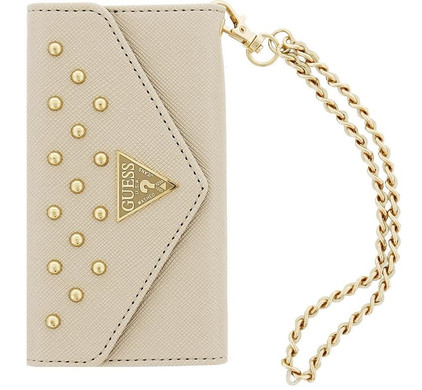 Guess Clutch Studded Collection Apple iPhone 6 Plus/6s Plus Wit