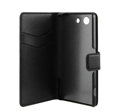 Xqisit Slim Wallet Case Sony Xperia Z3 Compact Zwart