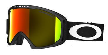 Oakley O2 XL Matte Black + Fire Iridium Lens
