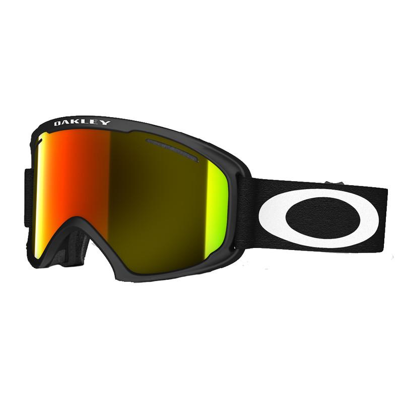 Oakley O2 Xl Matte Black / Fire Iridium