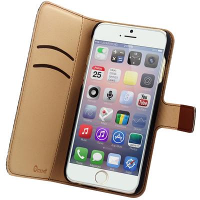 Muvit Wallet Case 2 Cardslots Apple iPhone 6 Bruin