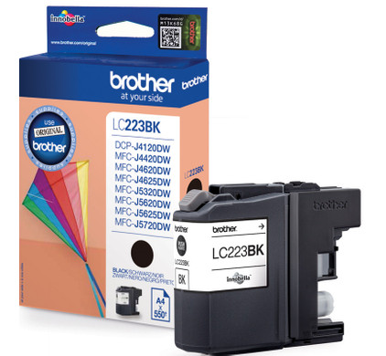 Brother LC-223BK Cartridge Zwart