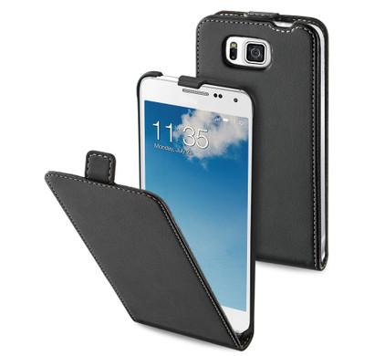 Muvit Slim Case Samsung Galaxy Alpha Zwart