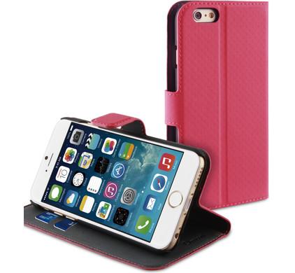 Muvit Wallet Case Apple iPhone 6 Roze