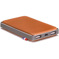 Decoded Leather Powerbank 6000 mAh Bruin