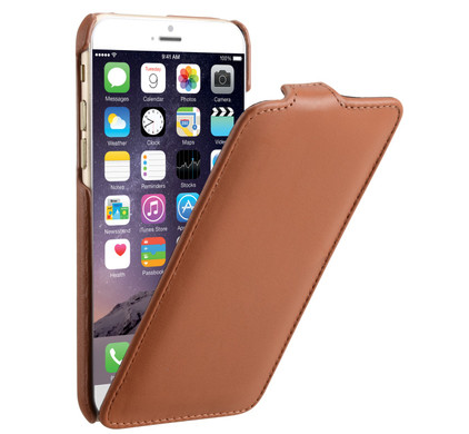 Decoded Leather Flipcase Apple iPhone 6 Brown