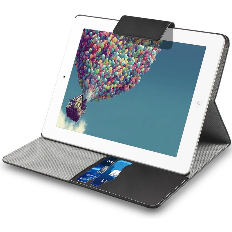 Muvit Folio Stand Case Cardslots Apple Ipad Air 2 Zwart