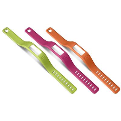 Garmin Vivofit Polsbanden Roze/Groen/Oranje - S