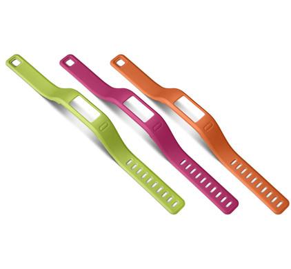 Garmin Vivofit Polsbanden Roze/Groen/Oranje - L