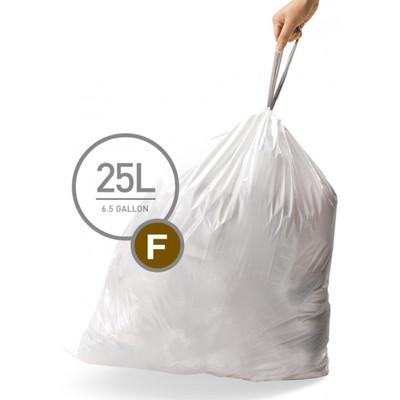 Image of Simplehuman Afvalzak Code F - 25 Liter (20 stuks)