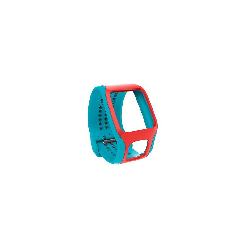 Tomtom Cardio Comfort Strap Turquoise/rood