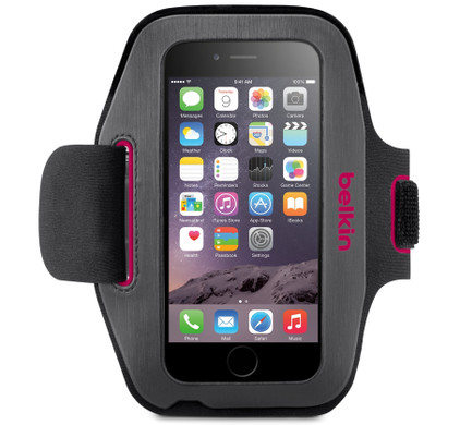 Belkin Sport-Fit Armband Apple iPhone 6/6s Roze