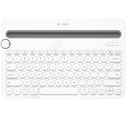 Logitech Multi Device Toetsenbord K480 Wit QWERTY