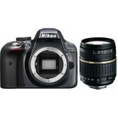 Nikon D3300 + Tamron 18-200mm