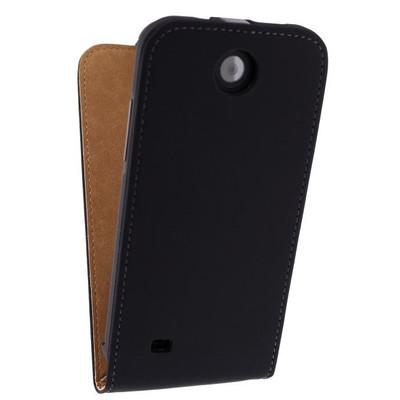 Mobilize Ultra Slim Flip Case HTC Desire 510 Zwart