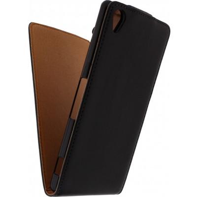 Xccess Leather Flip Case Sony Xperia Z3 Compact Zwart