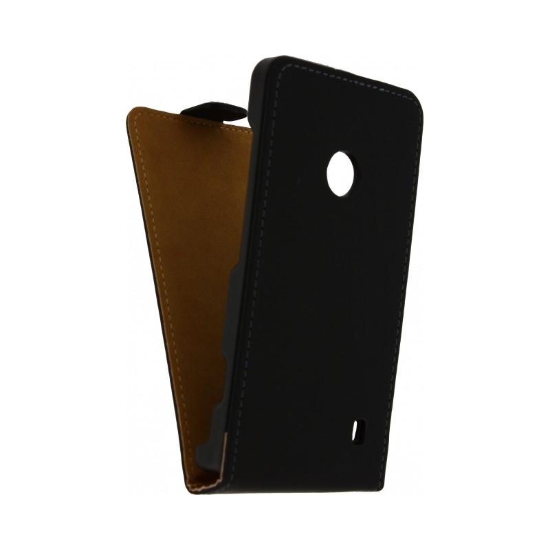 Mobilize Ultra Slim Flip Case Nokia Lumia 830 Zwart