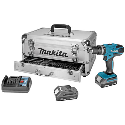 Makita HP457DWEX9 + 70-delige Toolbox