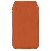 Decoded Leather Pouch Apple iPhone 6 Plus/6s Plus/7 Plus Bruin
