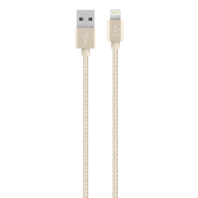 Belkin Premium Lightning cable Gold