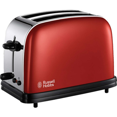 Image of 18951-56 - 2-slice toaster 1100W red 18951-56