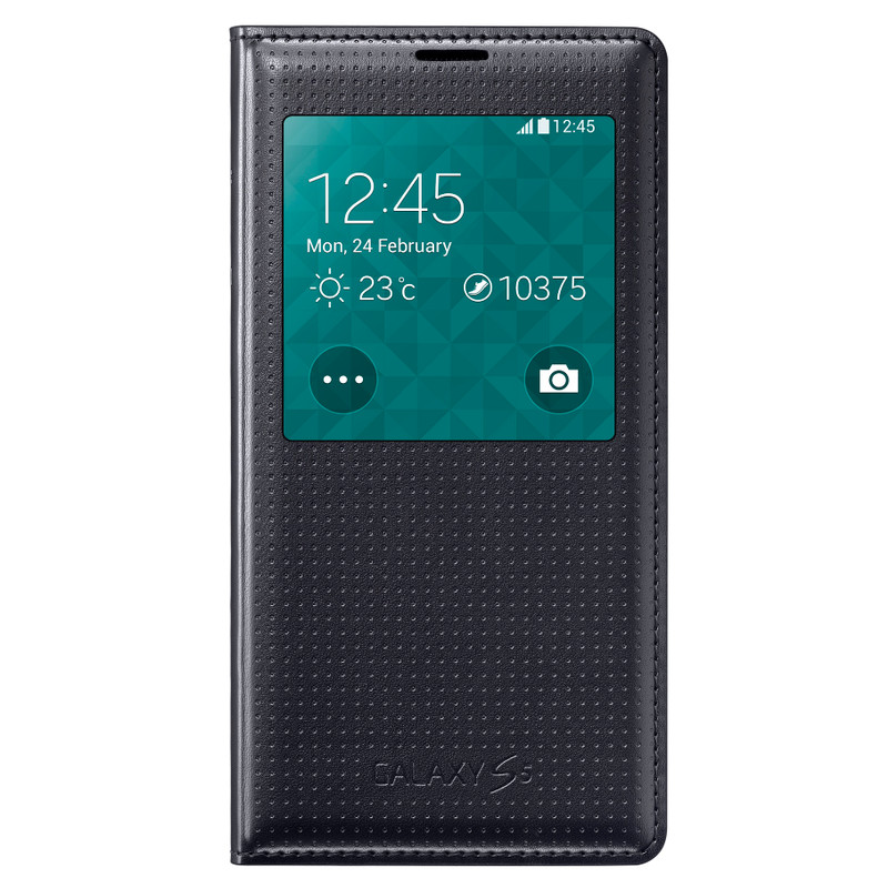 Samsung Galaxy S5 S View Cover Zwart