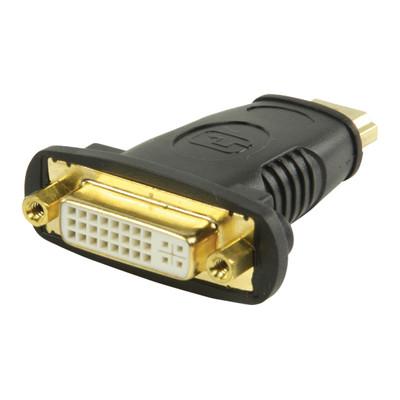 Image of HDMI - DVI-adapter HDMI-connector - DVI vrouwelijk zwart - Valueline