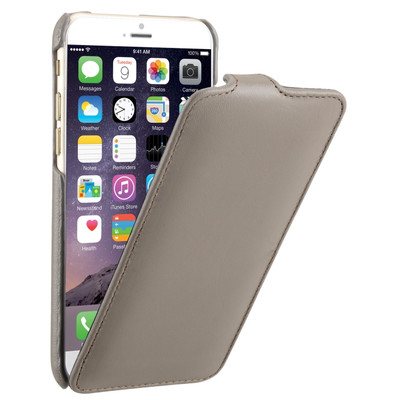 Decoded Leather Flip Case Apple iPhone 6 Grijs