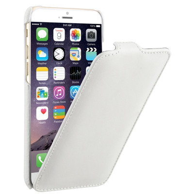 Image of Decoded Leather Flip Case Apple iPhone 6/6s Wit