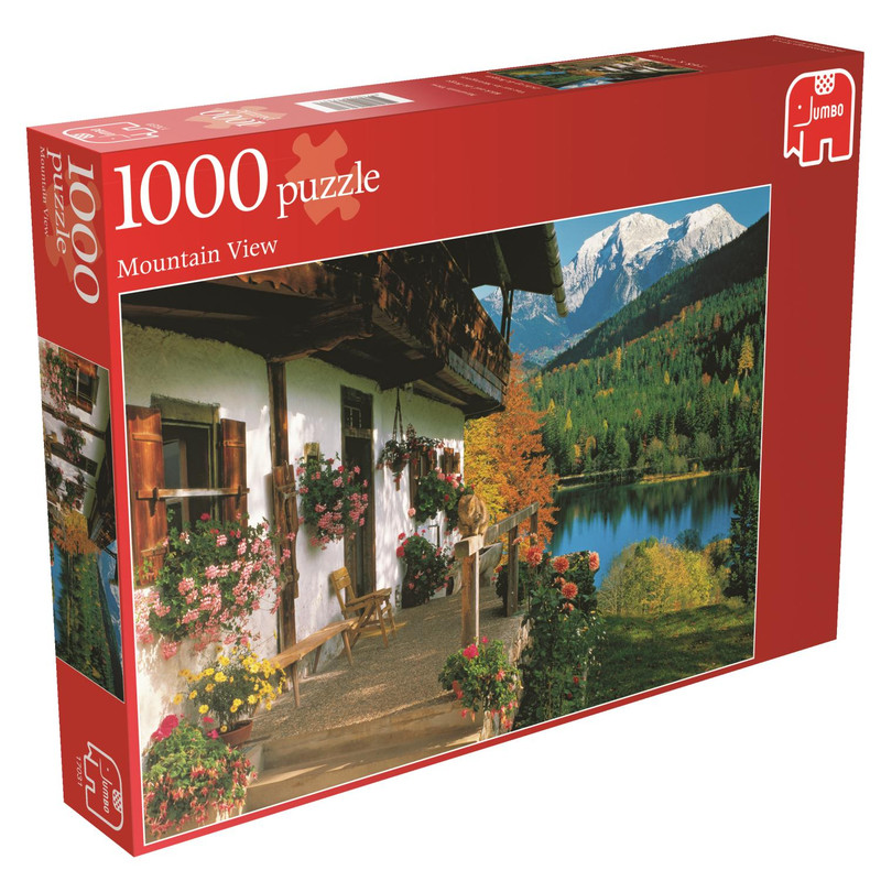 Jumbo Zicht Op De Bergen 1000