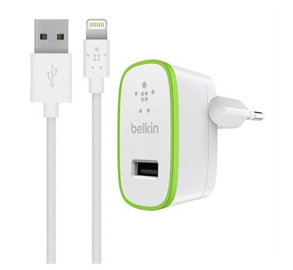 Belkin Thuislader 2,4A met Lightning-kabel
