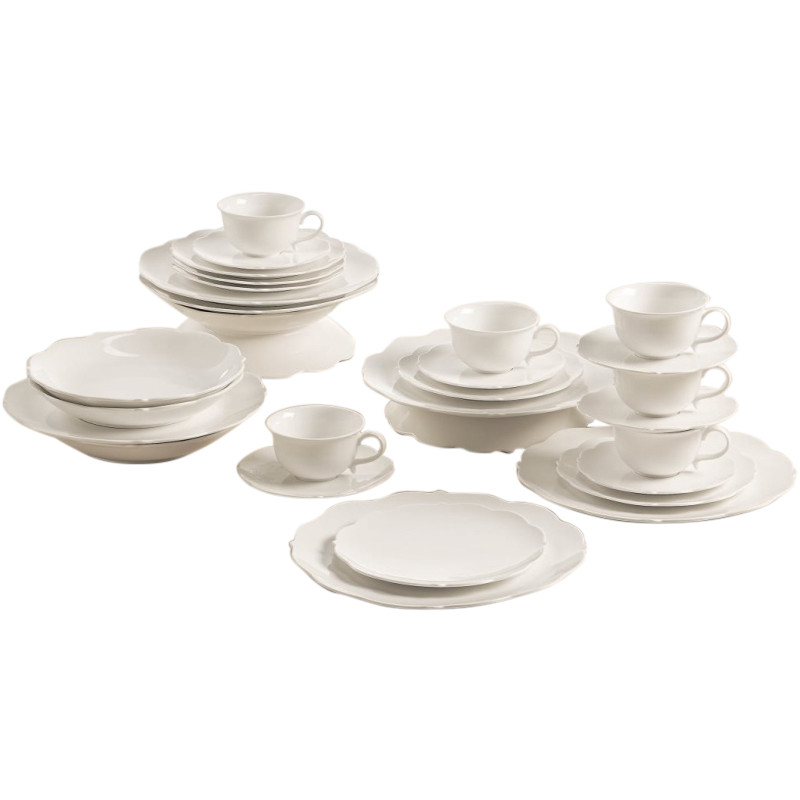 MaxwellandWilliams White Rose Koffie/dinerset 30-delig