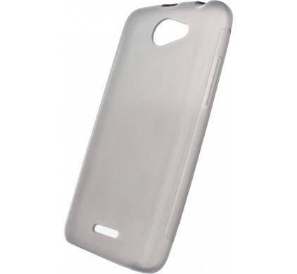 Xccess TPU Case HTC Desire 516 Transparant Zwart
