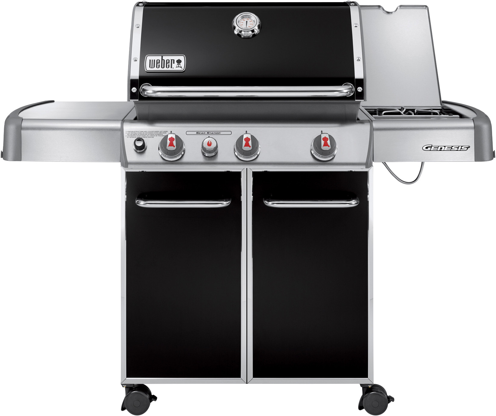 Barbecues Weber Genesis E-330 GBS Zwart