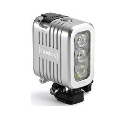 Knog Qudos Action Light zilver