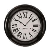 Riverdale Time Wandklok Zwart 46cm