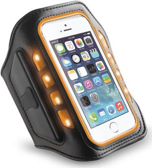 Muvit Universal LED Sportarmband Large Oranje