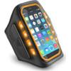 Muvit Universal LED Sportarmband Extra Large Oranje