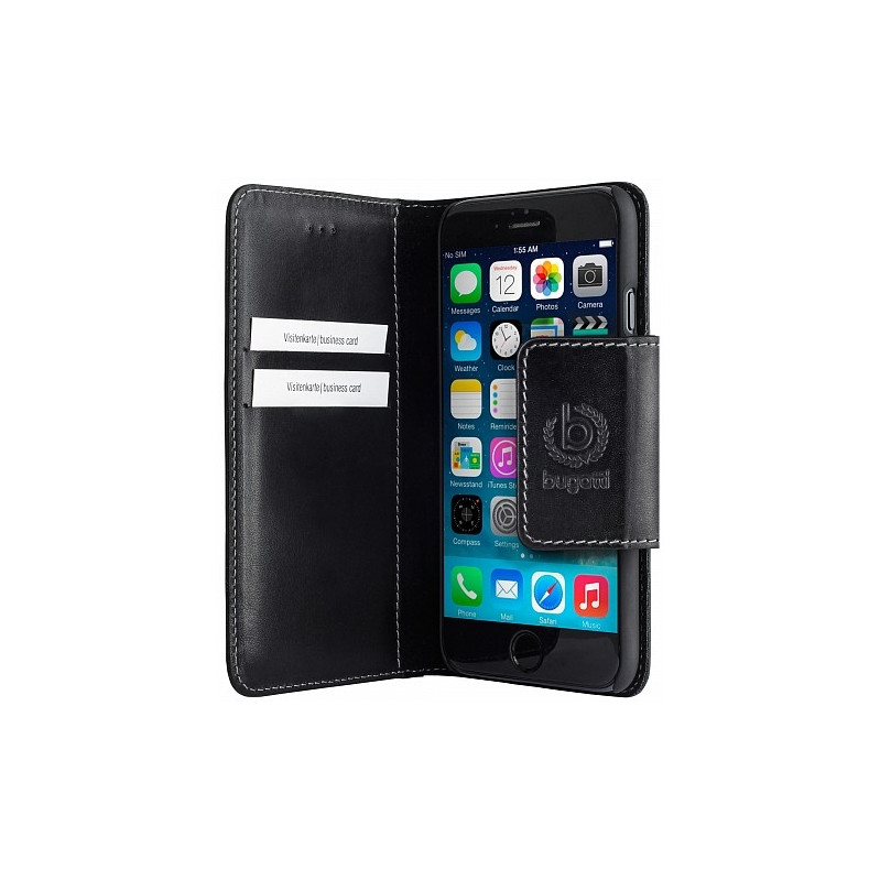 Bugatti BookCover Amsterdam Apple iPhone 6 Zwart