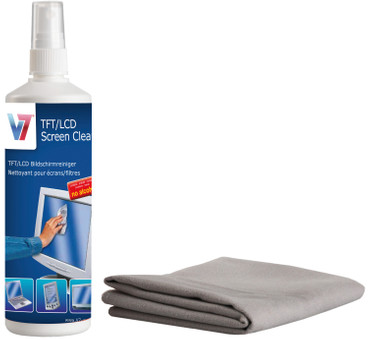 V7 Screen Cleaning Set 250ml