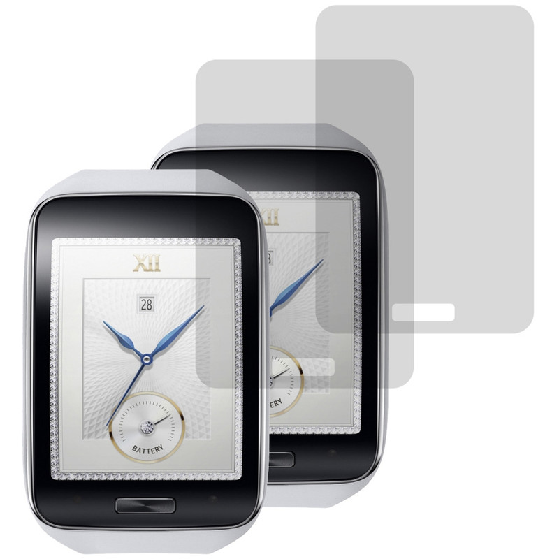 Gecko Covers Screenprotector Samsung Gear S Duo Pack