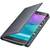 Samsung Galaxy Note Edge Flip Wallet Zwart