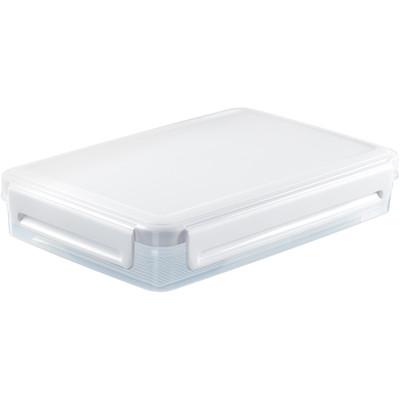Curver Aroma Fresh Premium Vershouddoos - 2,4 l - Kunststof - Rechthoekig - Laag - Transparant/Wit