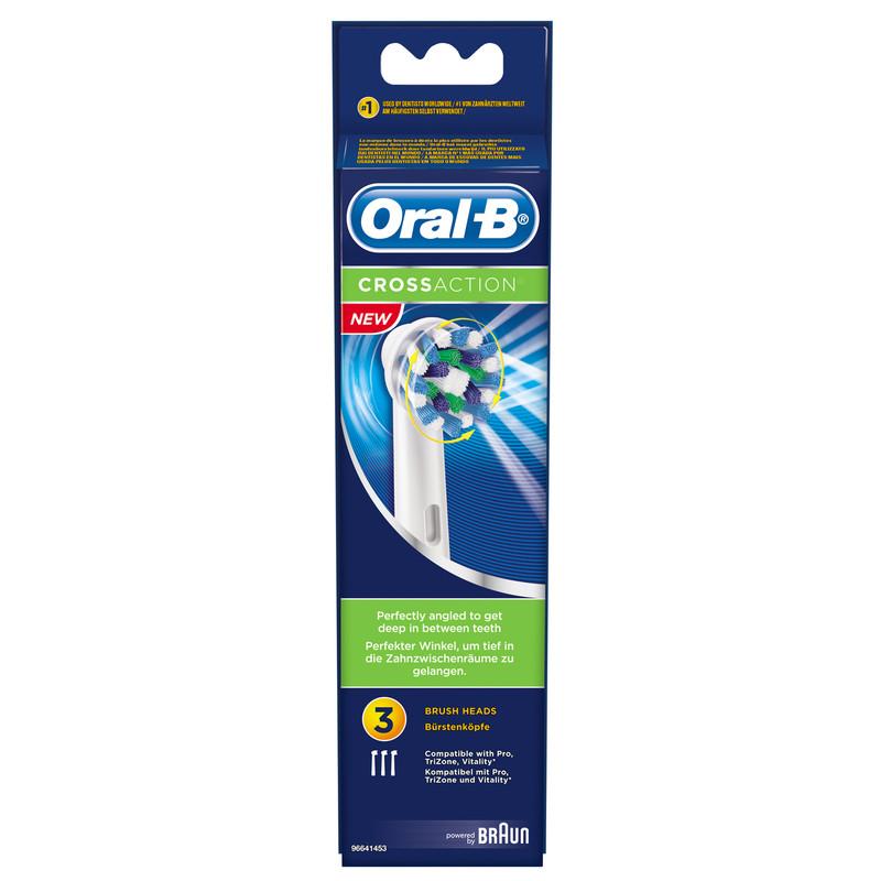 Oral-b Cross Action Eb50 (3 Stuks)