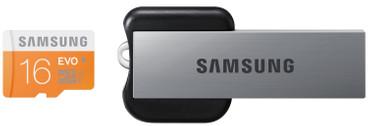 Samsung microSDHC Evo 16 GB + USB 2.0 Reader